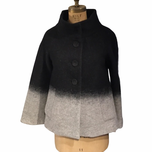 Zara Basic Ombré Wool Coat